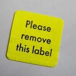Labels - Ben Baughman